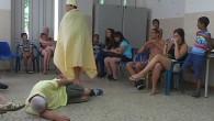"""В периода от 21.07.14 до 31.07.14 ученици от гимназията участваха в  проект """"Различни, но приятели""""заедно с доброволци от Нидерландия. Нашите доброволци бяха г-жа Мима Бакоева, Виолета Димитрова, Дея..."""