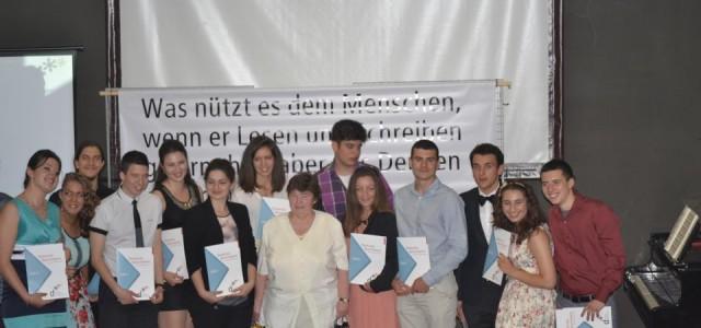 """Това е обръщението на г-жа Уляна Кьосева, член на Училищното настоятелство и родител на абитуриентка, при връчване на Немските дипломи на учениците от випуск 2013 на ГПЧЕ """"Ромен Ролан"""".  […]"""